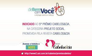 Projeto social do Instituto ABIHPEC é indicado ao 5º Prêmio Cabelos&cia