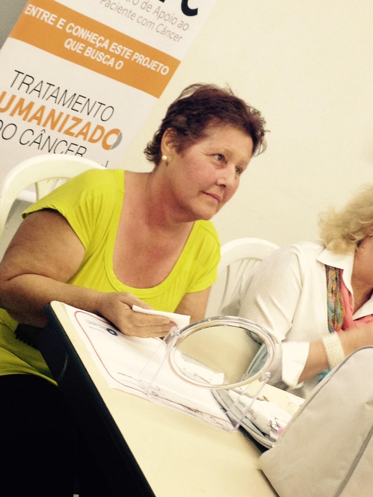 Oficina Londrina De Bem com Você - a Beleza contra o câncer