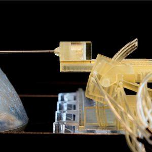 Robô de plástico entra na luta contra o câncer