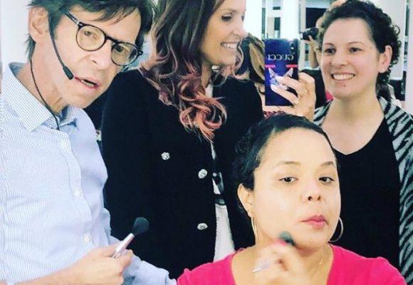 Confira como foi a oficina especial com Beauty-artist Duda Molinos em alusão ao Outubro Rosa