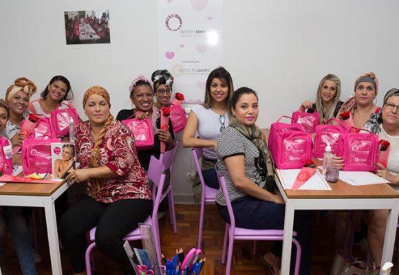 No dia Internacional da Mulher, o Programa De Bem com Você – a Beleza contra o Câncer inaugurou um espaço acolhedor para receber as mulheres em tratamento oncológico