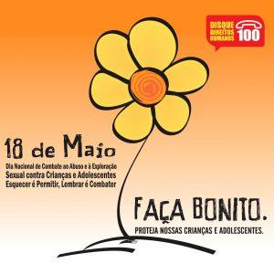 18 de maio – Dia Nacional de Combate ao Abuso e à Exploração Sexual de Crianças e Adolescentes