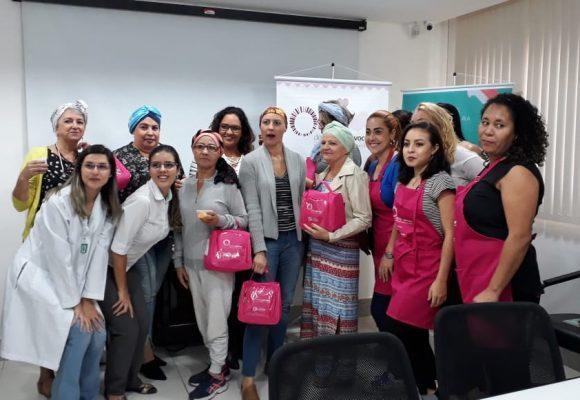 As oficinas do Programa De Bem com Você – a Beleza contra o Câncer chegam ao Espírito Santo, em parceria com o CECON