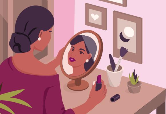 Vamos falar sobre o poder de transformação da maquiagem?
